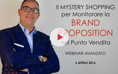 Il Mystery Shopping per Monitorare la Brand Reputation nel Punto Vendita [video webinar]
